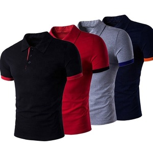 Plain polo t-shirt- men polo shirt-100% cotton polo shirts