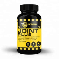 Wasp Nutrition Joint Care Plus Sports Food Diet Supplement Tablets Pills - Premium Bottle - Private Labelled Wholesale