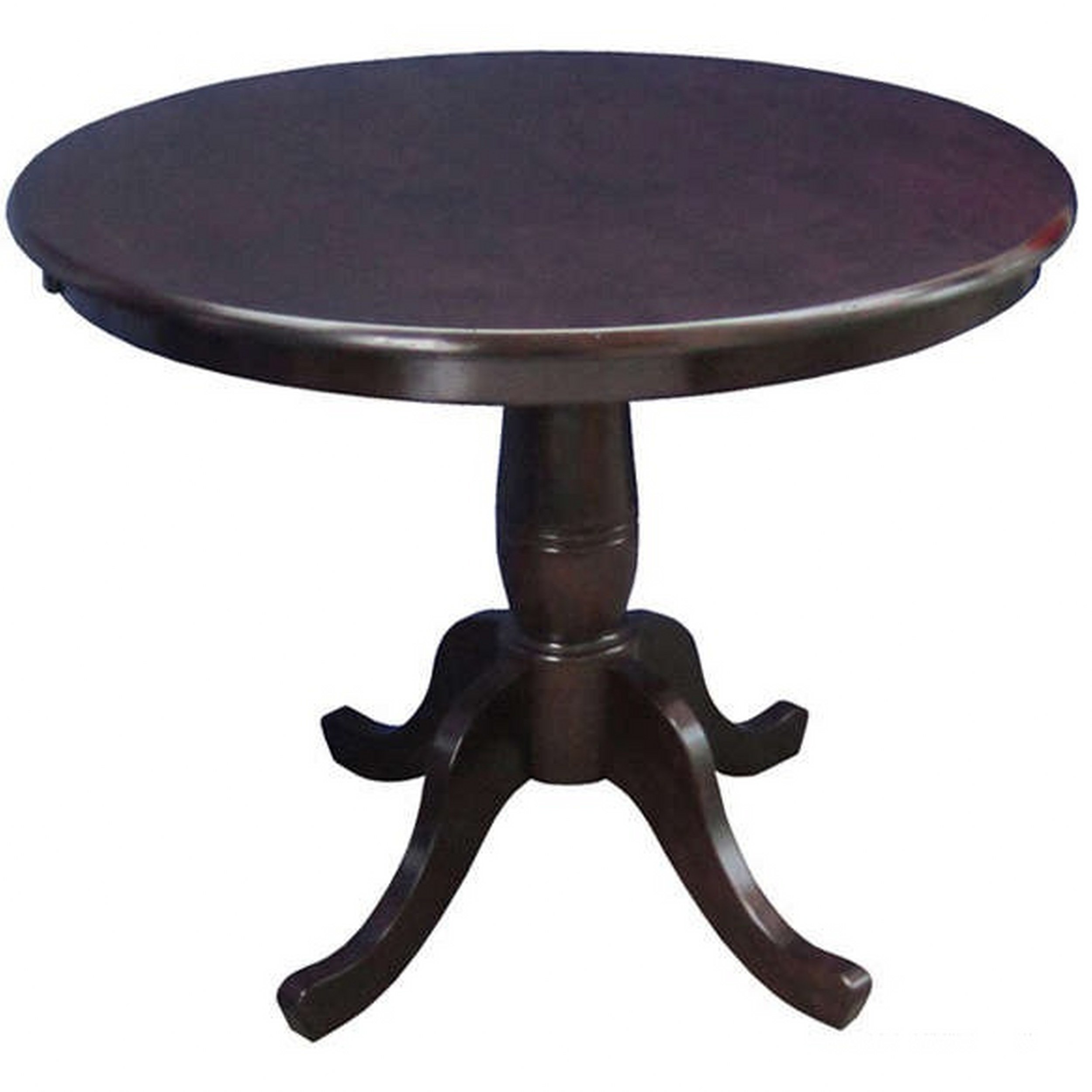 Get Quotations Modhaus Living Country Style 30 Inch Wood Round Top Pedestal Base Dining Table Includes