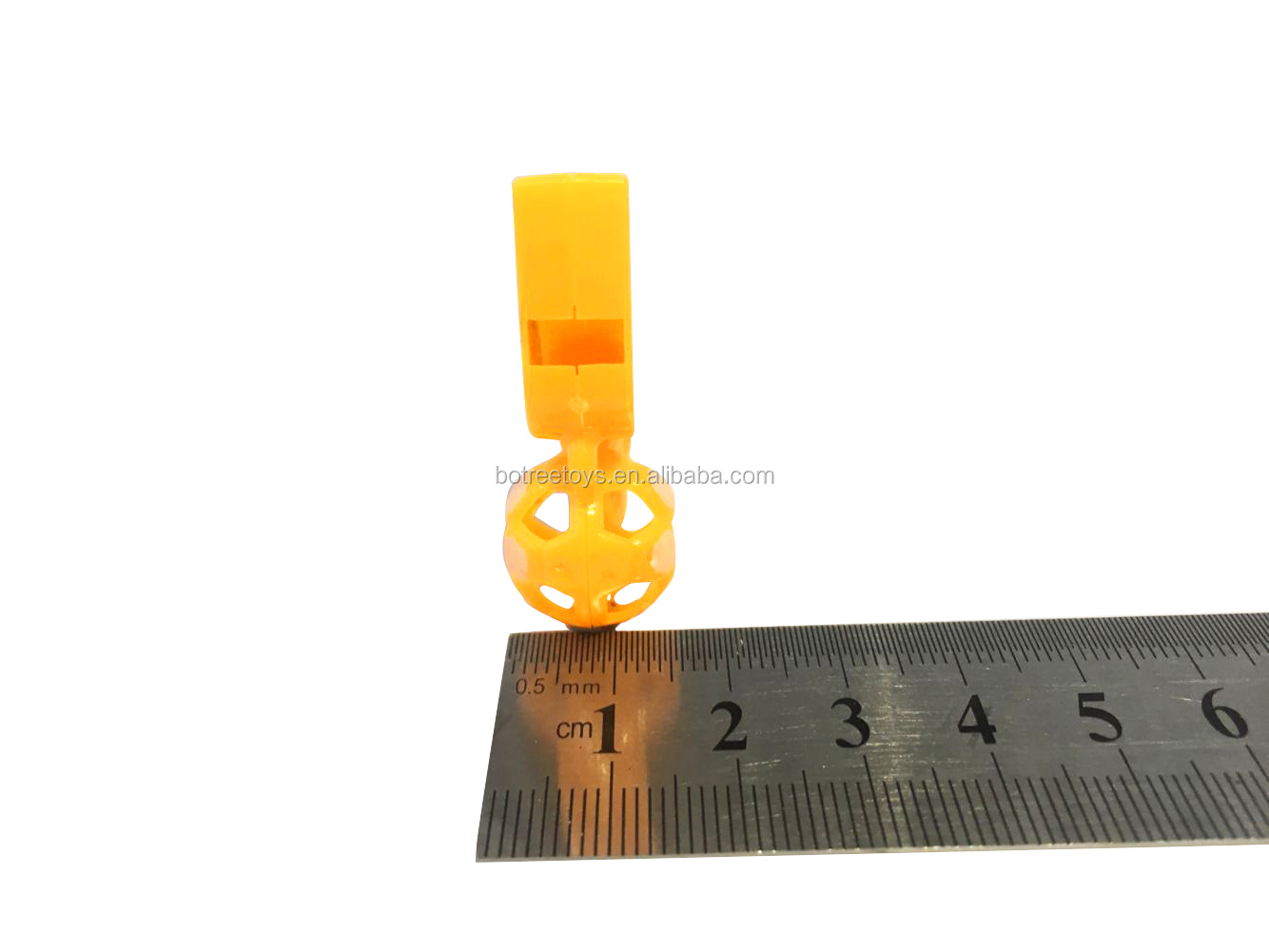 Promotional Sound Toy Plastic Football Shaped Whistle