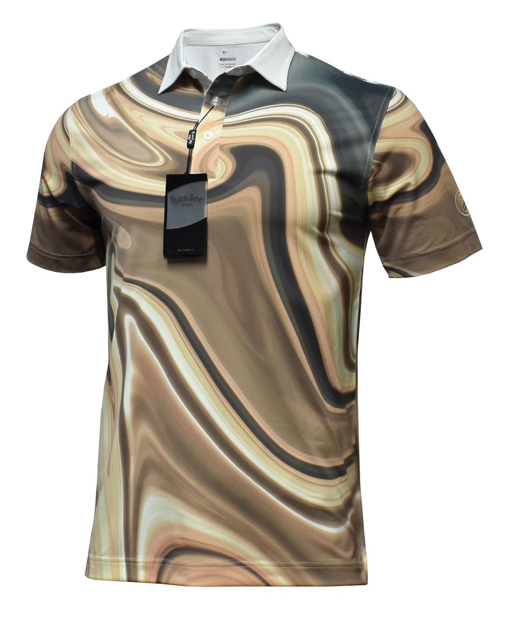 New Design Polo Shirt Lightweight Polyester Spandex Custom Sport Golf Sublimation T Shirt 2018