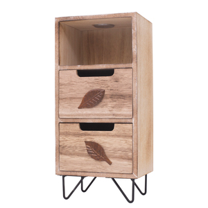 Hot Sell Wooden Desk Storage Decorative Cabinet With 3 Drawers