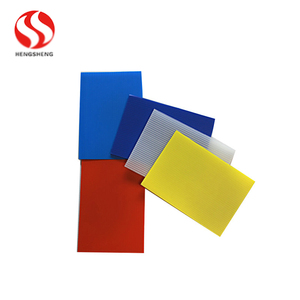translucent fire retardant construction protection screen coroplast corflute PP corrugated plastic sheet fluted hollow board