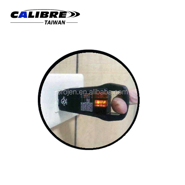 CALIBRE 110~125V AC Circuits GFI Receptacle Tester 3 Wire Ground Fault Receptacle Tester