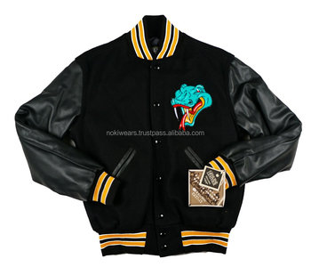 Senior College Varsity Jackets With Custom Logos Embroidered High School Name