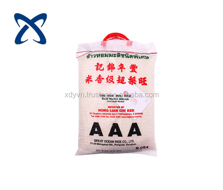 Wholesale customized printing aluminum foil food bag moisture proof rice bag with ziplock for snack cereals rice