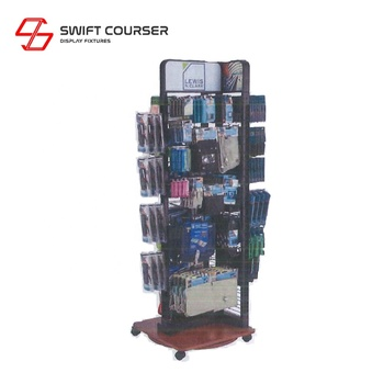 Counter top wire wall mounted grid display rack