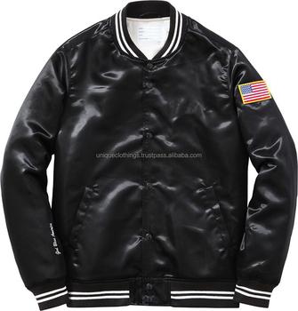 199b10e5eec46 Wholesale Blank Satin Jacket