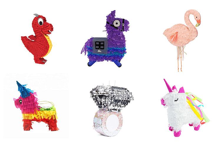 Nicro ขายส่งผลิตที่กำหนดเองการออกแบบเด็กของเล่นวันเกิดยูนิคอร์น Pinata