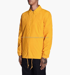 Street Casual Nylon Light Weight Coaches Jackets With Customization