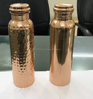 Top quality Hammered Copper Water Bottle FDA Passed