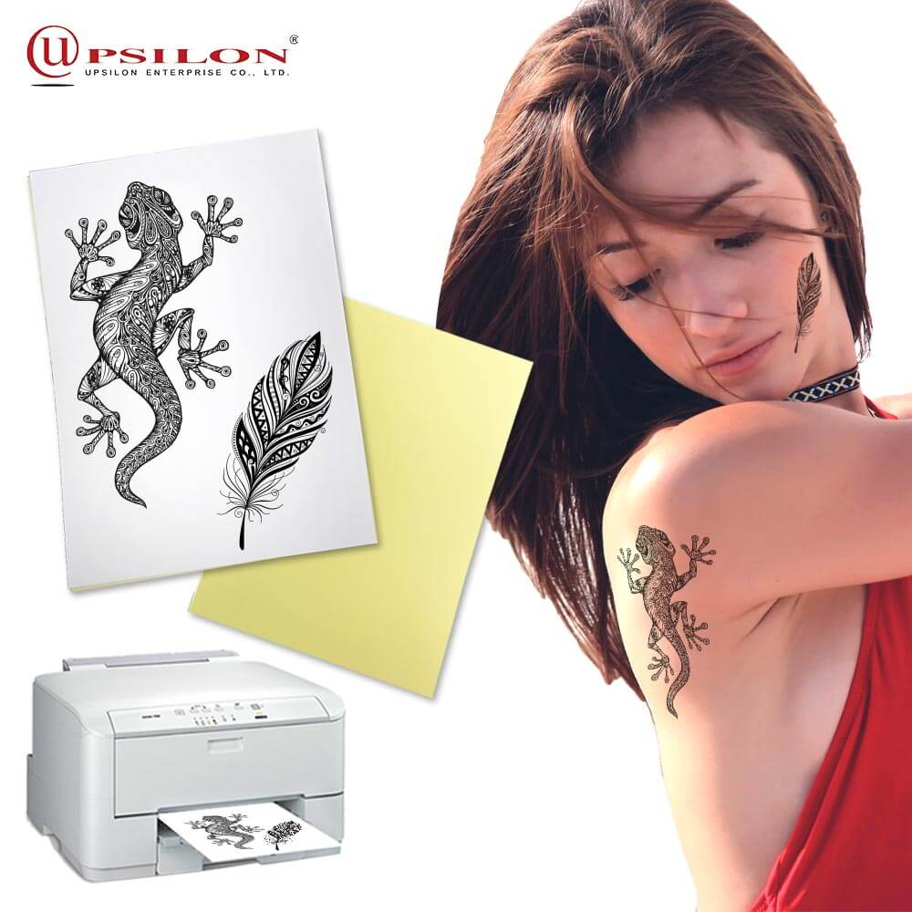 Sticker hand laser temporary tattoo