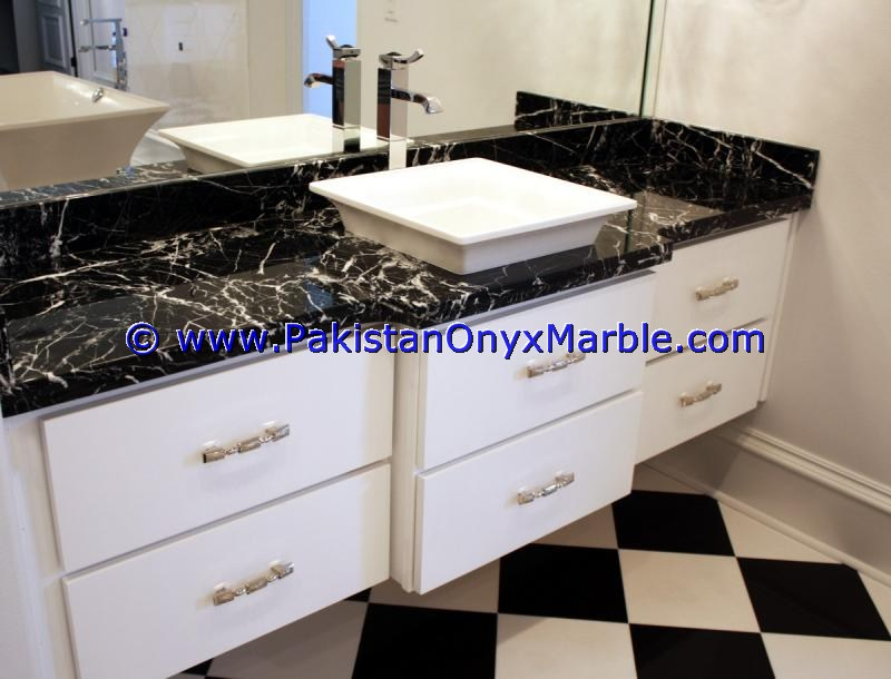 antique marble vanity top for rectangular square rounds sinks modern design styles decor home bathroom Jet Black marble