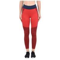 Latest 2019 newly designed red solid color scrunch butt high waist ladies new gym fitness wonderful slim fit leggings