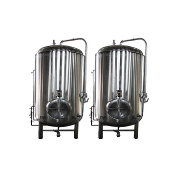 DYE Copper/Stainless Steel Bright Tank Commercial Used Beer Brewing Equipment with Cooling Jacket for Sale