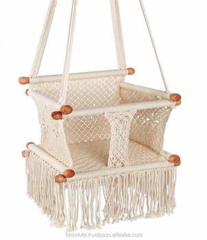 Macrame Baby Swing Baby Crib Buy Macrame Baby Swing