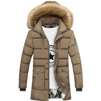 Latest Model Men's Puffer fur jacket/Long down Fur jacket OEM Services Fur jacket manufacture