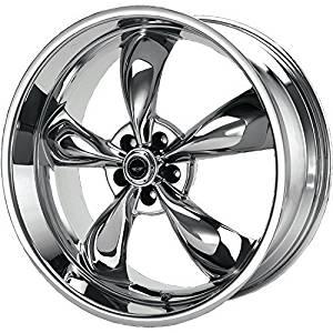 American Racing Custom Wheels AR605 Torq Thrust M Triple Chrome Plated Wheel (16x7/5x114.3mm, +35mm offset) by American Racing