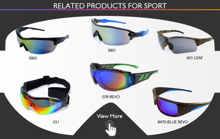 CE EN166 sport sunglasses anti-scratch matte frame made in Taiwan