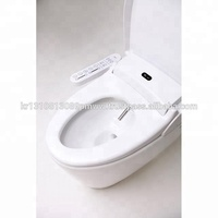 TREVI Smart Toilet, ALT-790, LED Night Light Stainless Nozzle Dryer Smart Deodorizer Air Bubble Pump Made By PP Material