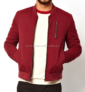 d4f741245 Apparel Bomber Jacket Wholesale Winter Clothes Red Jacket For Men And  Women\men Burgundy Bomber Jacket With Front Chest Zip - Buy Europe Velvet  ...