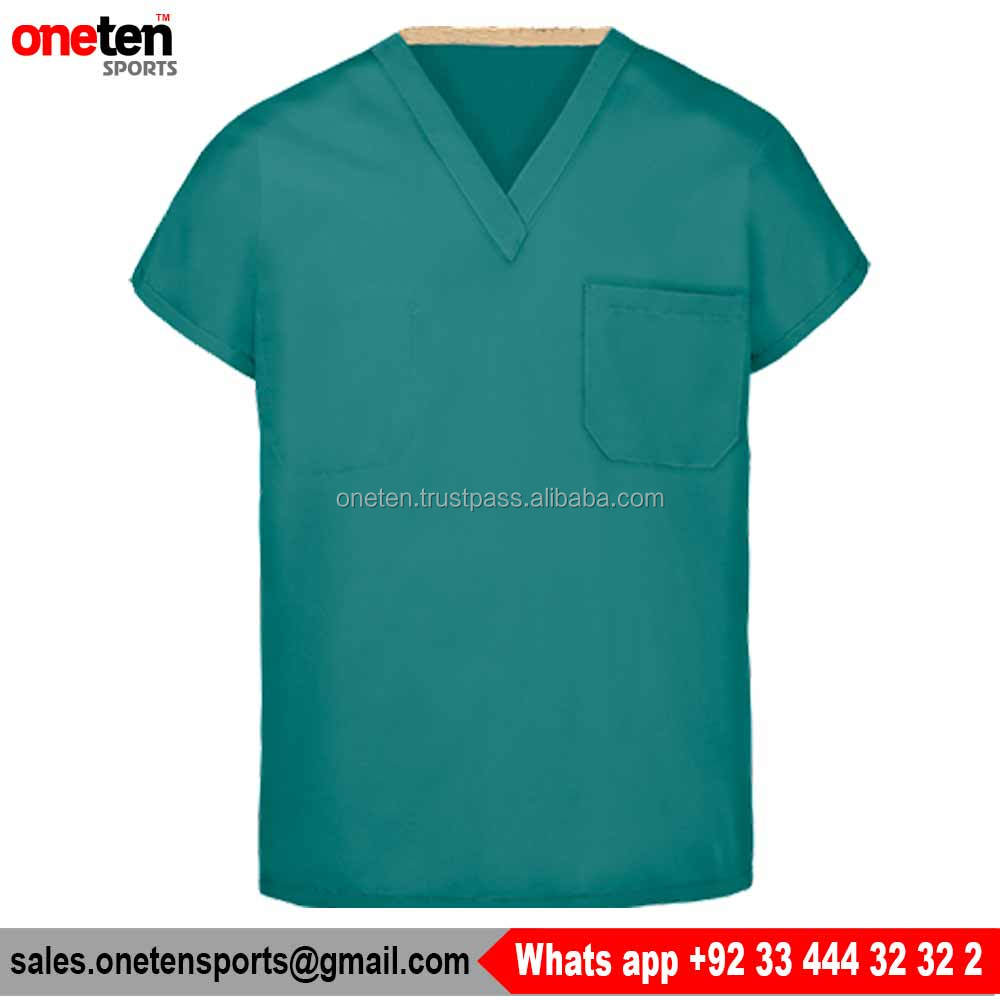 Fashion Seal Unisex Fashion Blend V-Neck Scrub Top - Hospital Wear