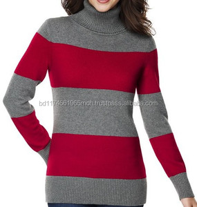 Soft knit Women fashion short style hand sweater designs for girls