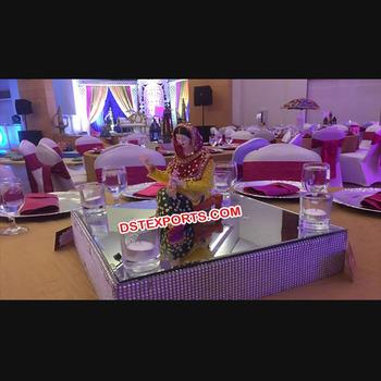 Punjabi Wedding Theme Decor Ideaspunjabi Theme Center Table