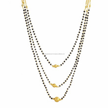 Placcato oro <span class=keywords><strong>Mangalsutra</strong></span> Per Le Donne