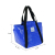 Blue Portable Insulated Lunch Bag for frozen food