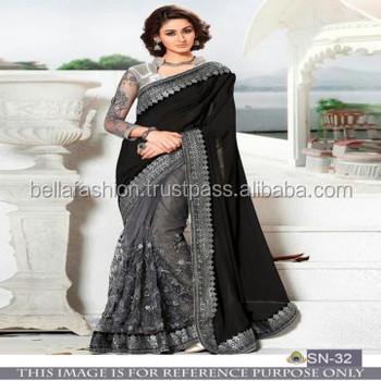 40b24de7ed Latest Modern Fashionable Bollywood Designer Blouse Wedding and Party Wear  Sarees