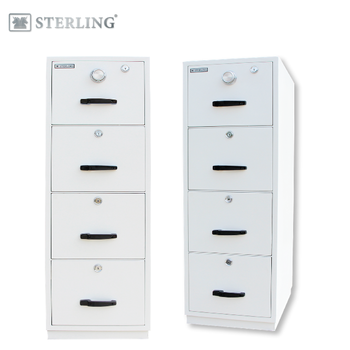 STERLING 4 Drawer Fire Resistant Filing File Cabinet