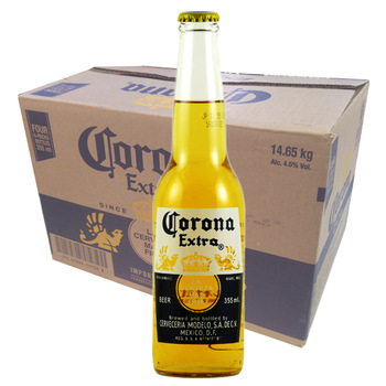how many calories are in a corona extra beer