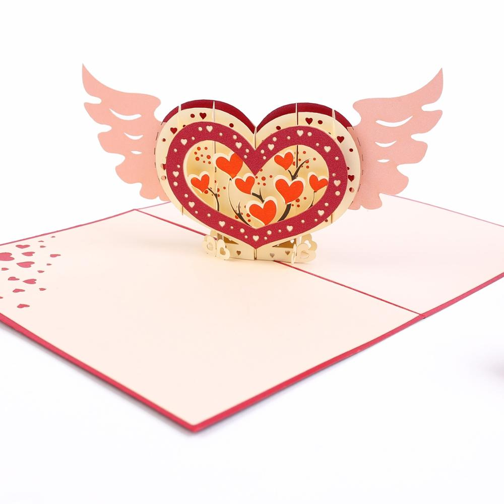 Надписей открыток, день святого валентина 3д открытку