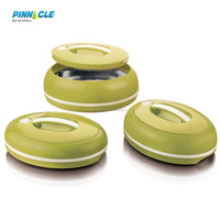 New Omega Pinnacle Food Container 3 Pcs Set