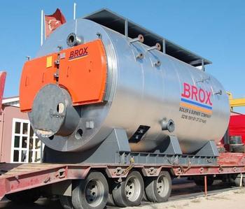 スコッチ蒸気ボイラー容量 350 ...
