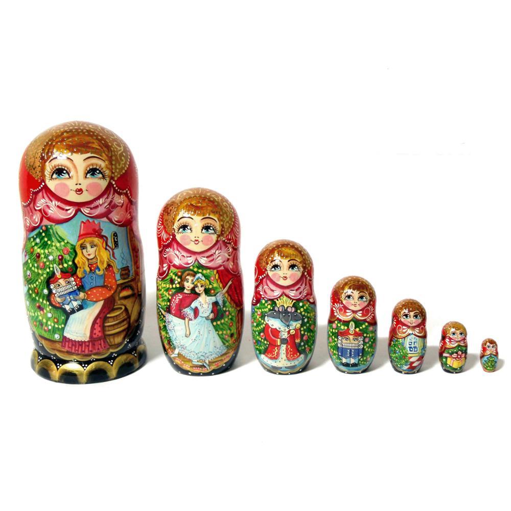 nutcracker wooden nesting dolls buy russian dolls traditional matryoshka  doll kitchen toy wooden set 5 pc - buy wood dolls,child dolls,wooden dolls