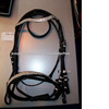 English Leather Bridle with decorative bling.