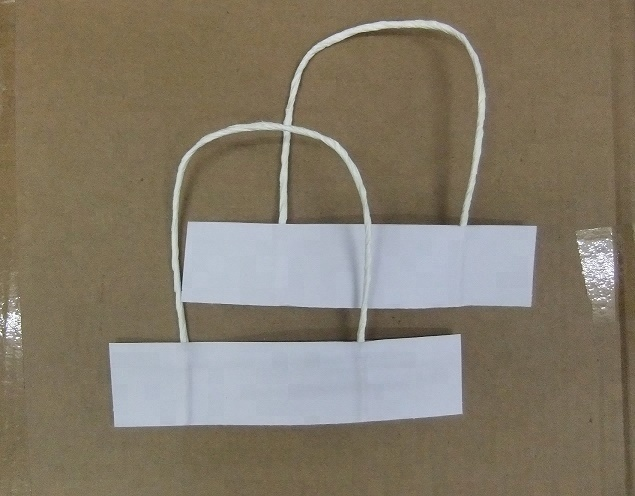 Paper Bag Twine Handle Brown White Rope Product On Alibaba