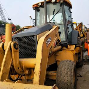Used JOHN DEERE 710G backhoe loader of wonderful performance/John Deere 710 backhoe loader