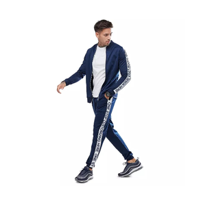 Latest Customized Men Tracksuit/ Men Sweatsuit/ Custom made Men Jogging Suit