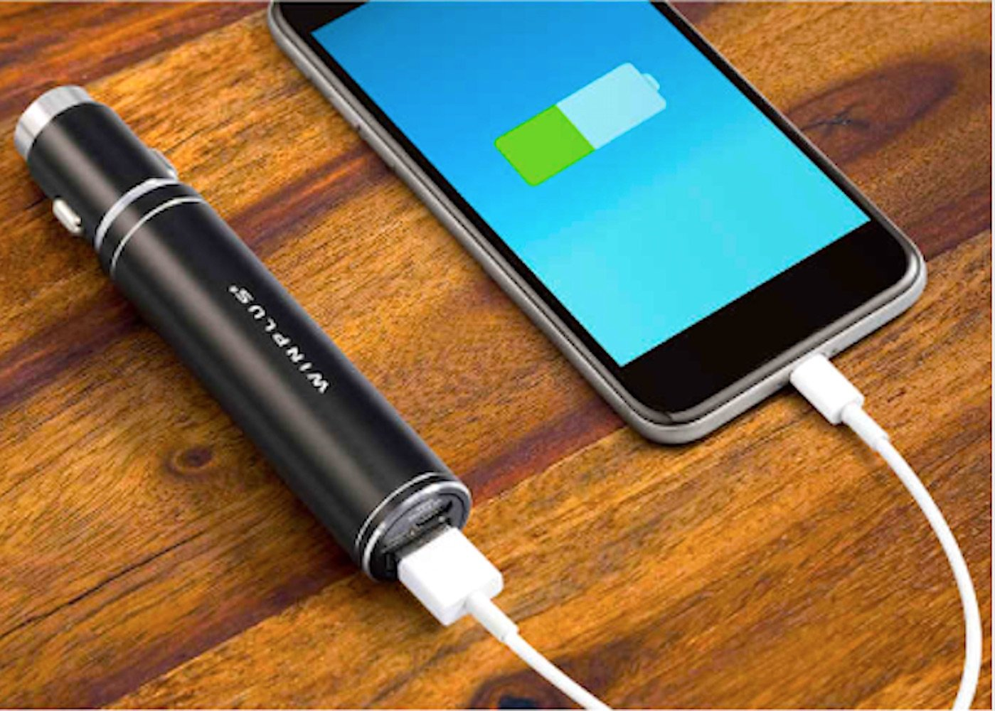 3-in-1 Portable Power Bank & Auto Emergency Tool 2-pack