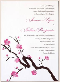 Screen Print Invitation Inserts G