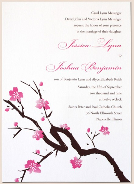 Screen Print Invitation Inserts Buy G Land Silk Wedding Folio