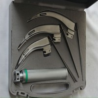 Surgical Instruments And Laryngoscope and Fiber Optic Laryngoscope Set