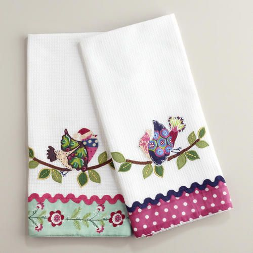 Wholesale Embroidery 100% Cotton Kitchen Towel