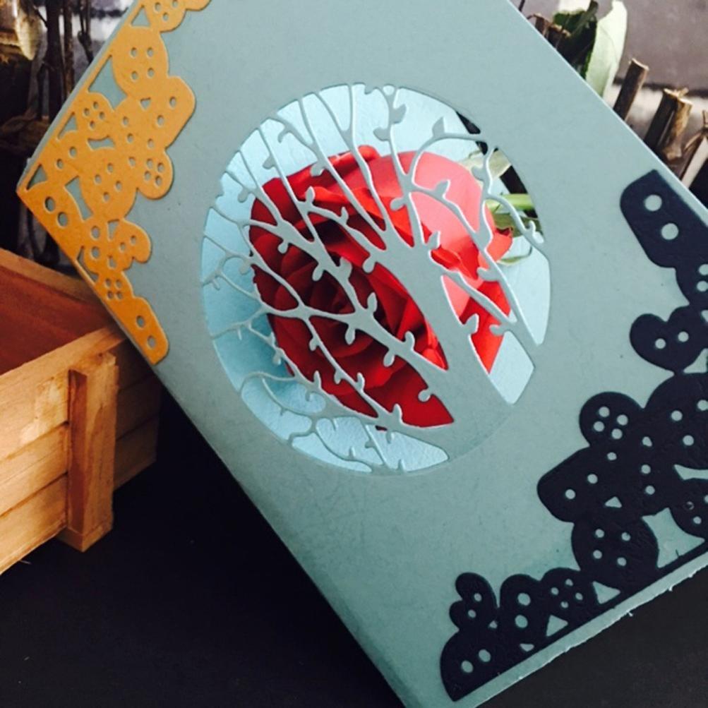 Lanhui_New!!! Christmas Exquisite Paper Decor Cutting Dies Stencil Scrapbooking DIY Handcrafts (B)