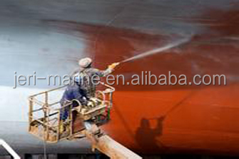 High Build Epoxy Coal Tar Pitch Anticorrosive Paint for Boat Conatiner