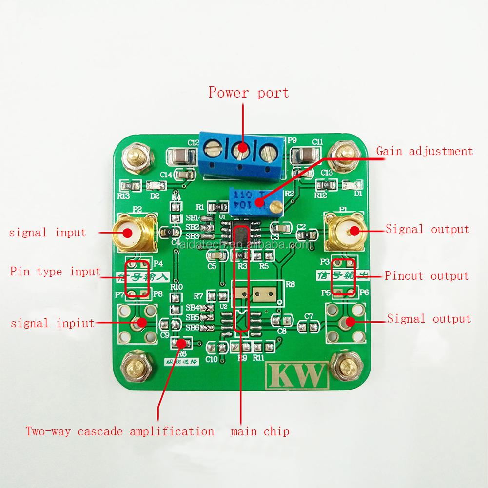 Opa842 Op Amp Gain Feedback Loop Voltage Controlled Amplifier Opamp