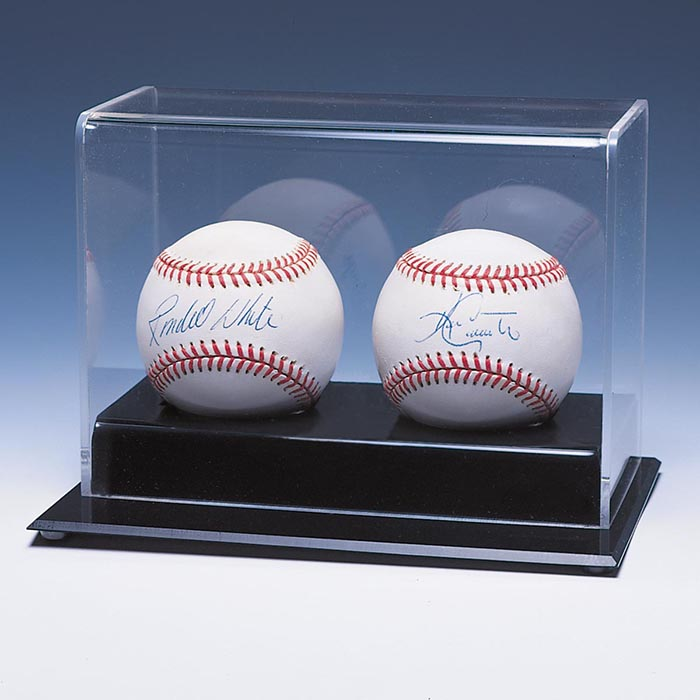 Autographs-original Baseball Hockey Puck Display Case Sturdy Construction Display Cases